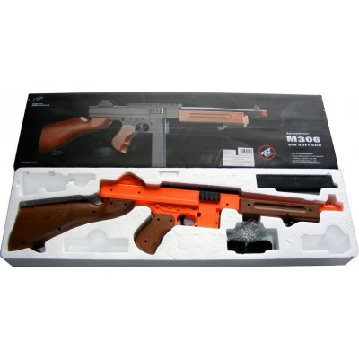 M306F Spring Powered Plastic Airsoft BB Gun Rifle 315 FPS