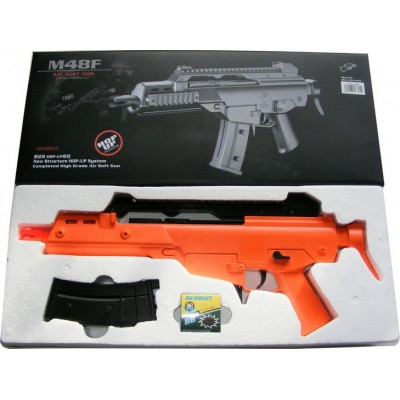Double Eagle M48F Spring Powered Plastic Airsoft BB Gun Rifle 280 FPS