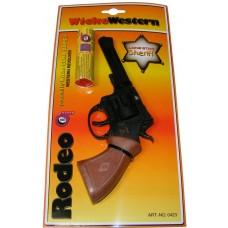 Rodeo 20cm Plastic 100-Shot Lone Star Sheriff Cap Gun & 1200 Caps