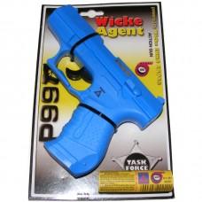 Sohne Wicke Blue P99 Police Style 18cm Plastic 100 Shot Cap Gun Pistol & 1200 Caps