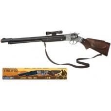 Gonher 8 Shot Western Style Plastic Cap Gun Rifle with Metal Firing Mechanism