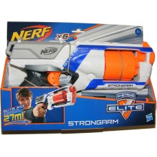 Nerf N-Strike Elite Strongarm Toy Foam Dart Gun with 6 Foam Darts