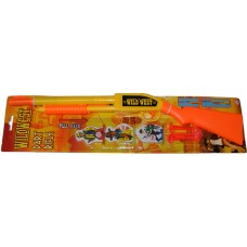 Wild West Plastic Pump Action Dart Rifle with 3 Darts and 3 Targets